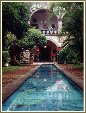 Hacienda San Gabriel De Las Palmas Fachada De Casas Mexicanas Casas En Mexico Casas Haciendas