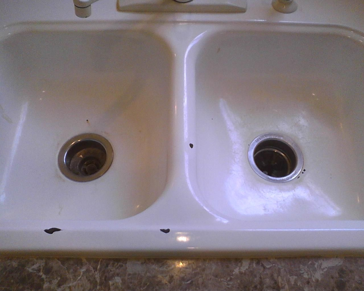 Delicieux Kitchen Sink Refinishing Porcelain   Kitchen Trash Can Ideas Check More At  Http://