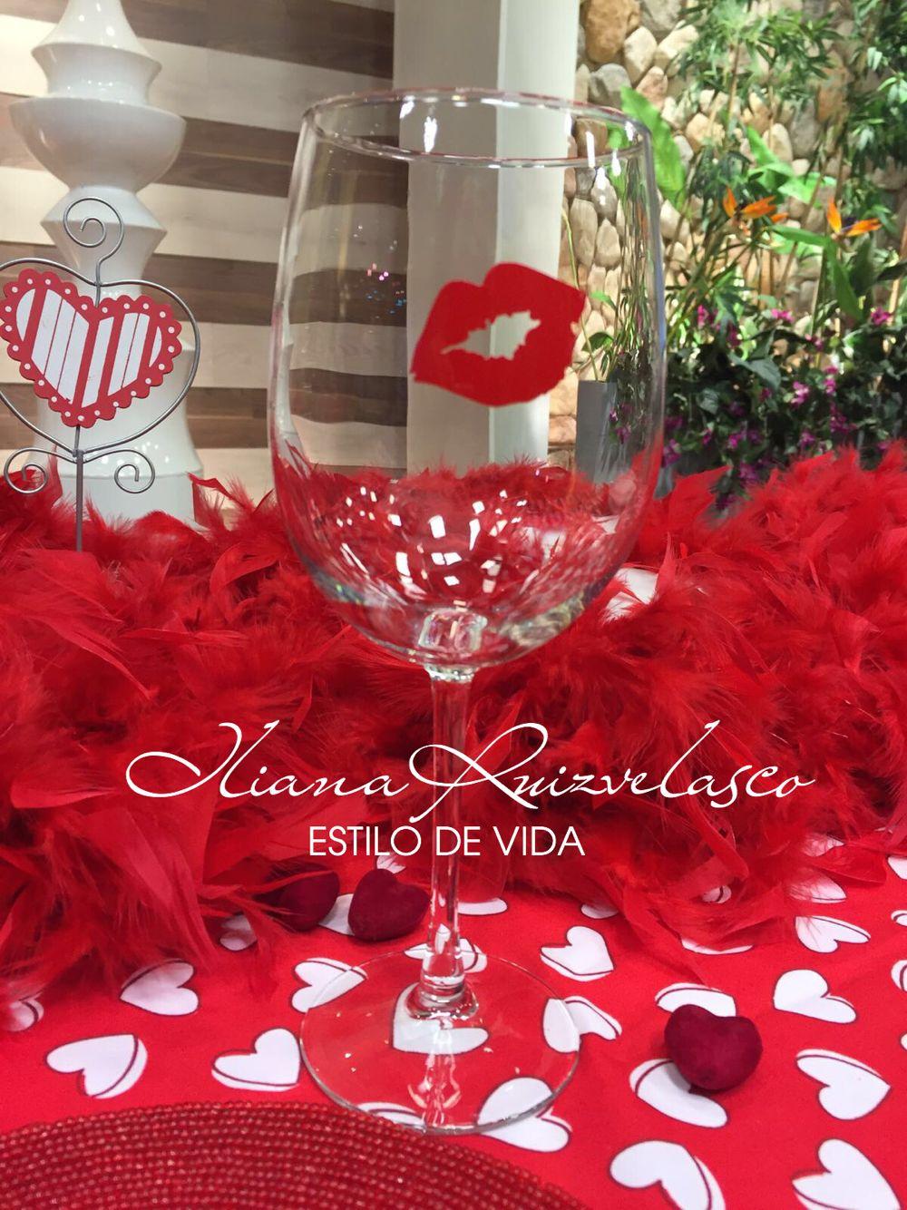San Valentin Decoration Ideas Para Una Cena Romntica Copa Decorada Del 14 De Febrero D A