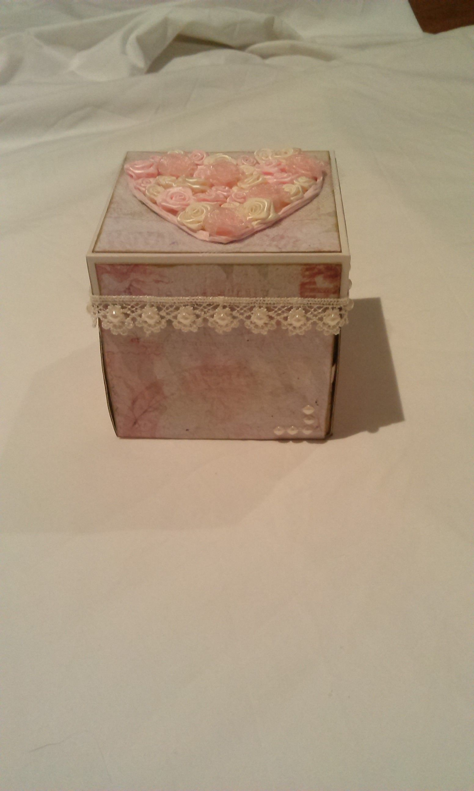 Exploding Box Wedding Card Things I Ve Created Pinterest