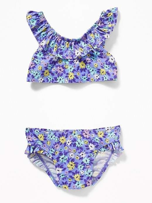 6fabb2f0d7d30 Old Navy Printed Ruffled Bikini for Toddler Girls | Products | Kids ...