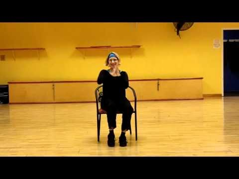 Zumba For Those Over 60 A Chair Routine To Waka Waka For Those Temp Home Bound Like My Mom Who At The Age Of 81 Fell Senior Fitness Chair Exercises Exercise