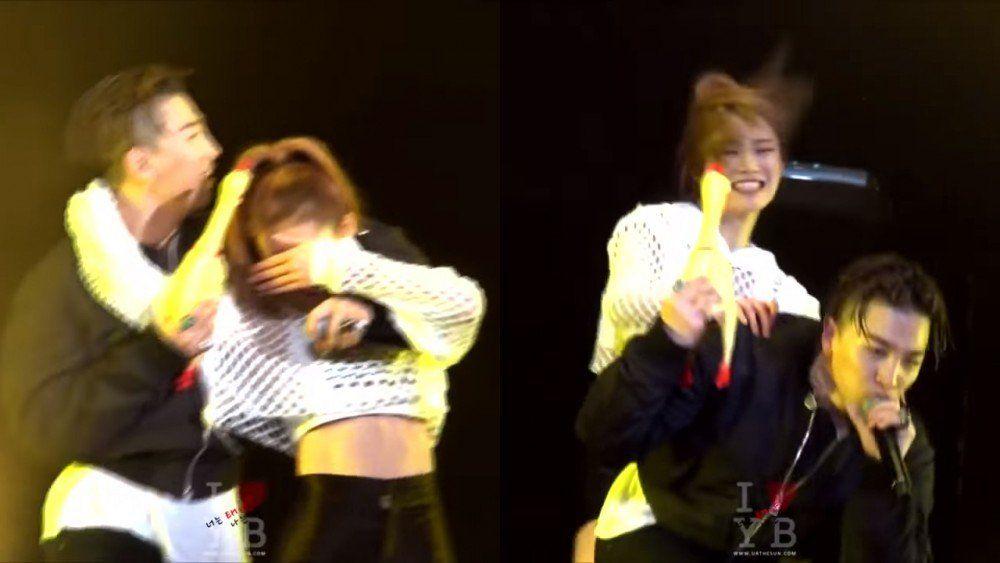 Cute Onstage Interactions Between Idols And Their Backup Dancers Onstage Idol Dancer