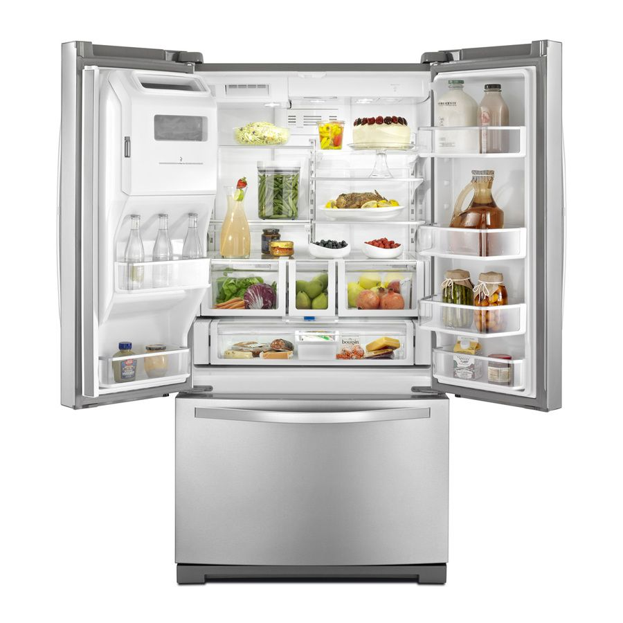 Kitchen Appliance Shop Shop Whirlpool 286 Cu Ft French Door Refrigerator Stainless