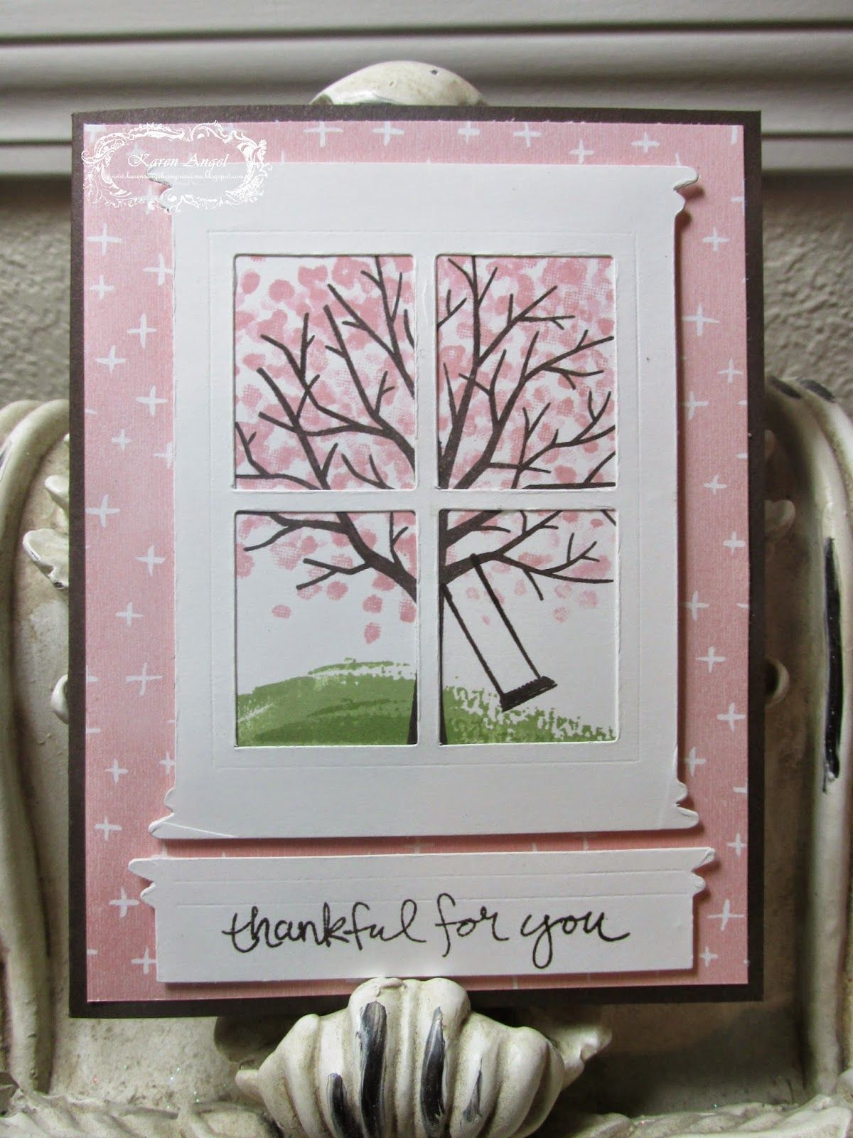 Karen's Angelic Impressions: Stamp with Karen April 13th (click here to view my blog)