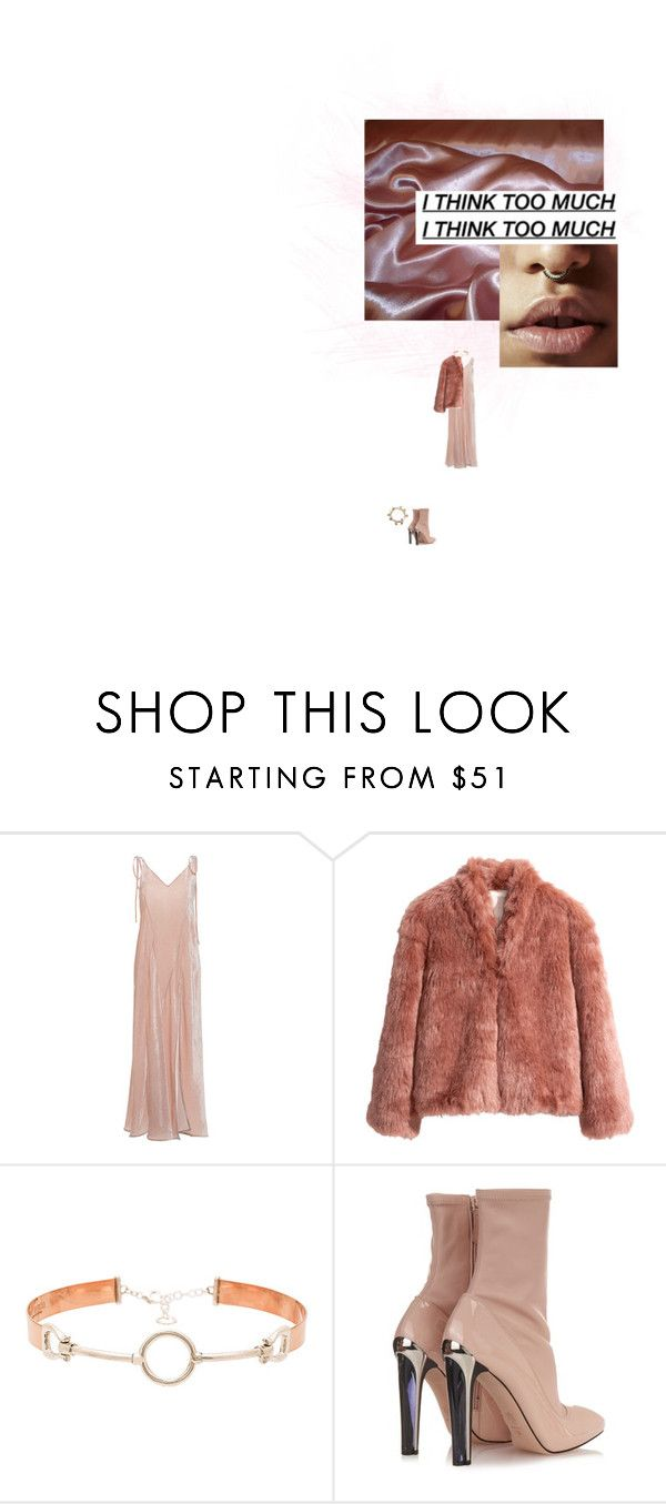 """""""Silk roads"""" by velvet-violets ❤ liked on Polyvore featuring Agent Provocateur, Attico, H&M, Cast of Vices, Alexander McQueen and Coleman"""