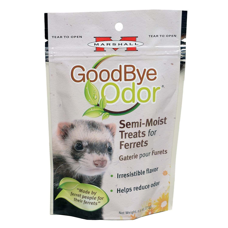 Marshall Pet Products Goodbye Odor Ferret Treats Ferret