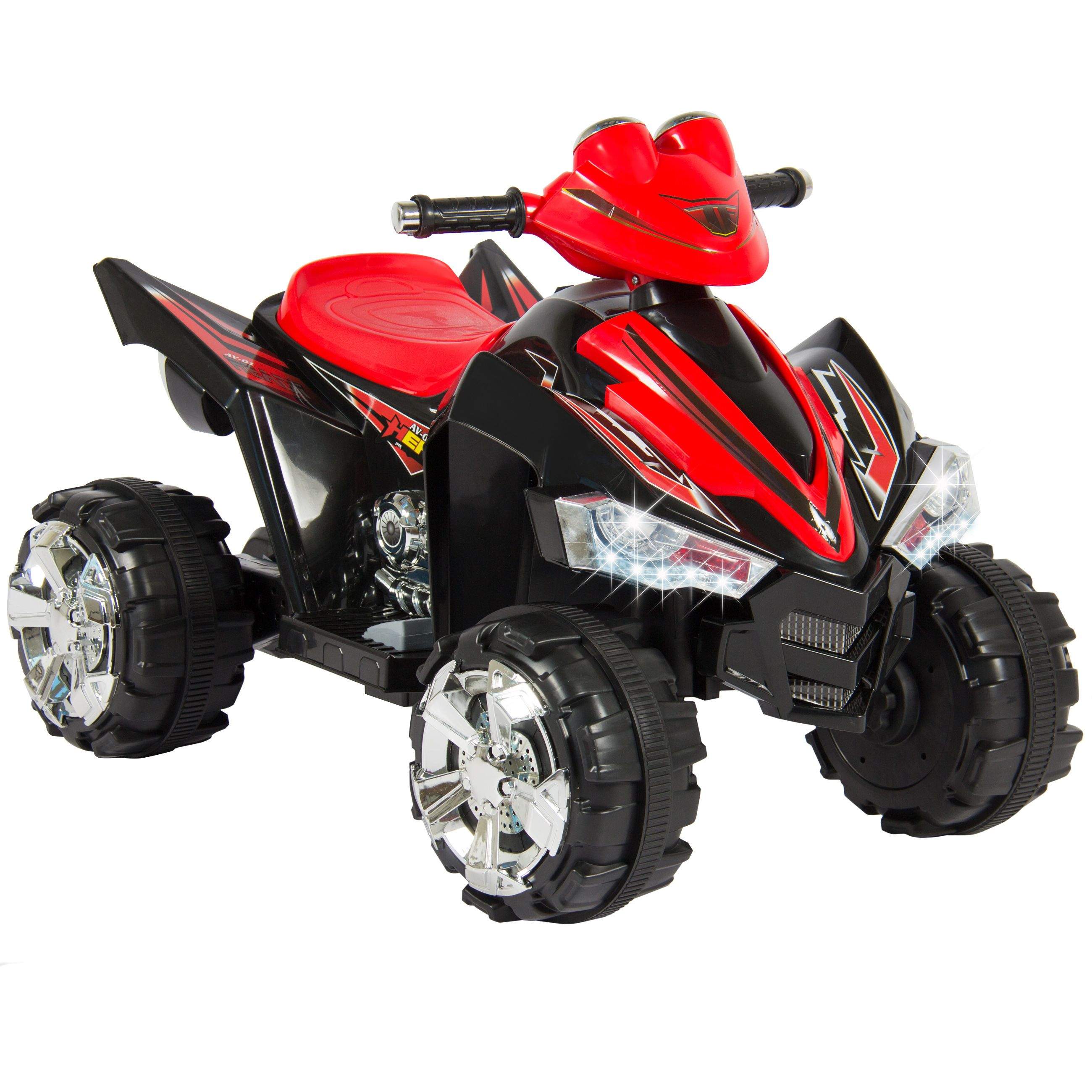 Kids Ride ATV Quad 4 Wheeler 12V Battery Power Electric Power
