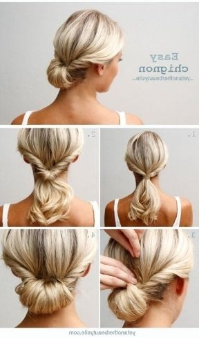 Amazing Easy Professional Hairstyles For Long Hair Images Hair Styles Chignon Hair Medium Hair Styles
