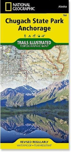 Trails Illustrated Chugach State Park Anchorage Topographic Map