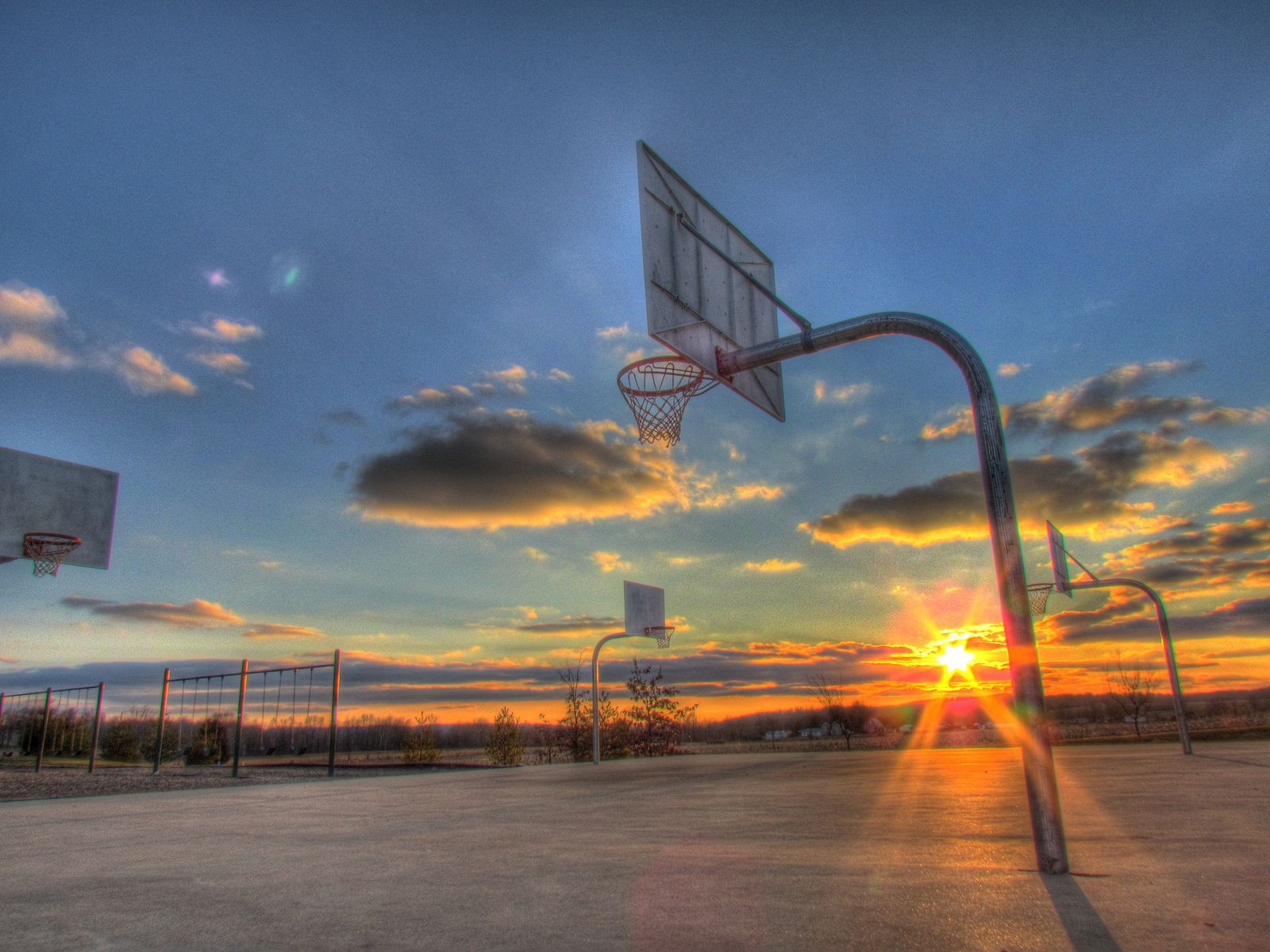 Hd Basketball Court Wallpaper For Iphone With Hd Wallpaper