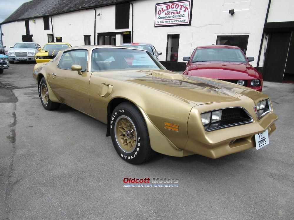 Ebay 1978 Pontiac Trans Am 6 6 Litre 4 Speed Manual 12 865 Miles