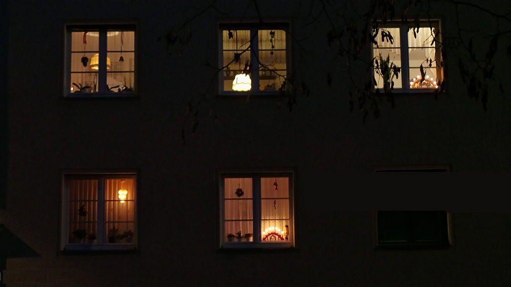Illuminated House Windows at Night | PG 5~ LOOKING THROUGH NIGHT