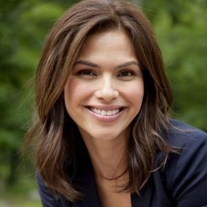 Kristine Johnson - New York news anchor on CBS  Not a big