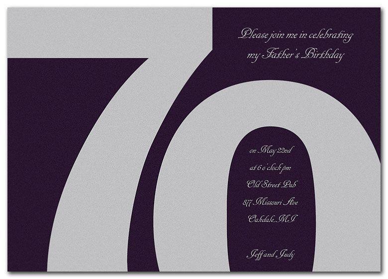 70th Birthday Invitations Wording Source Invitationconsultants Com 70th Birthday Invitations Birthday Invitation Templates Birthday Party Invitation Templates