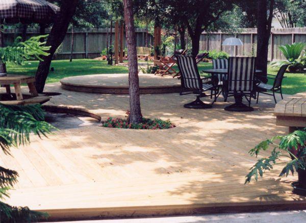 Backyard Deck Deck Ideas