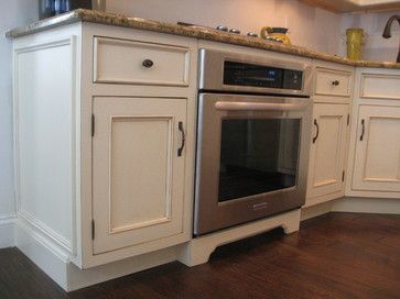 Wall Oven In Base Cabinet For Kitchen Design Ideas Pictures