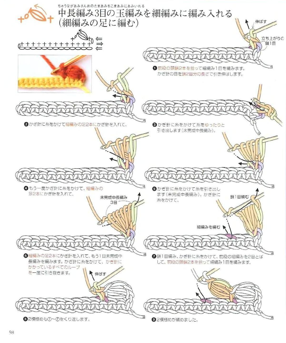 120 Basic Crochet Techniques Clippedonissuu Crochet Basics Crochet Techniques Crochet Stitches Guide
