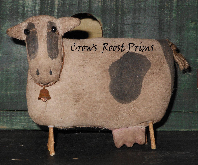 Primitive Cows//Set of 2//Farmhouse//Bowl Fillers
