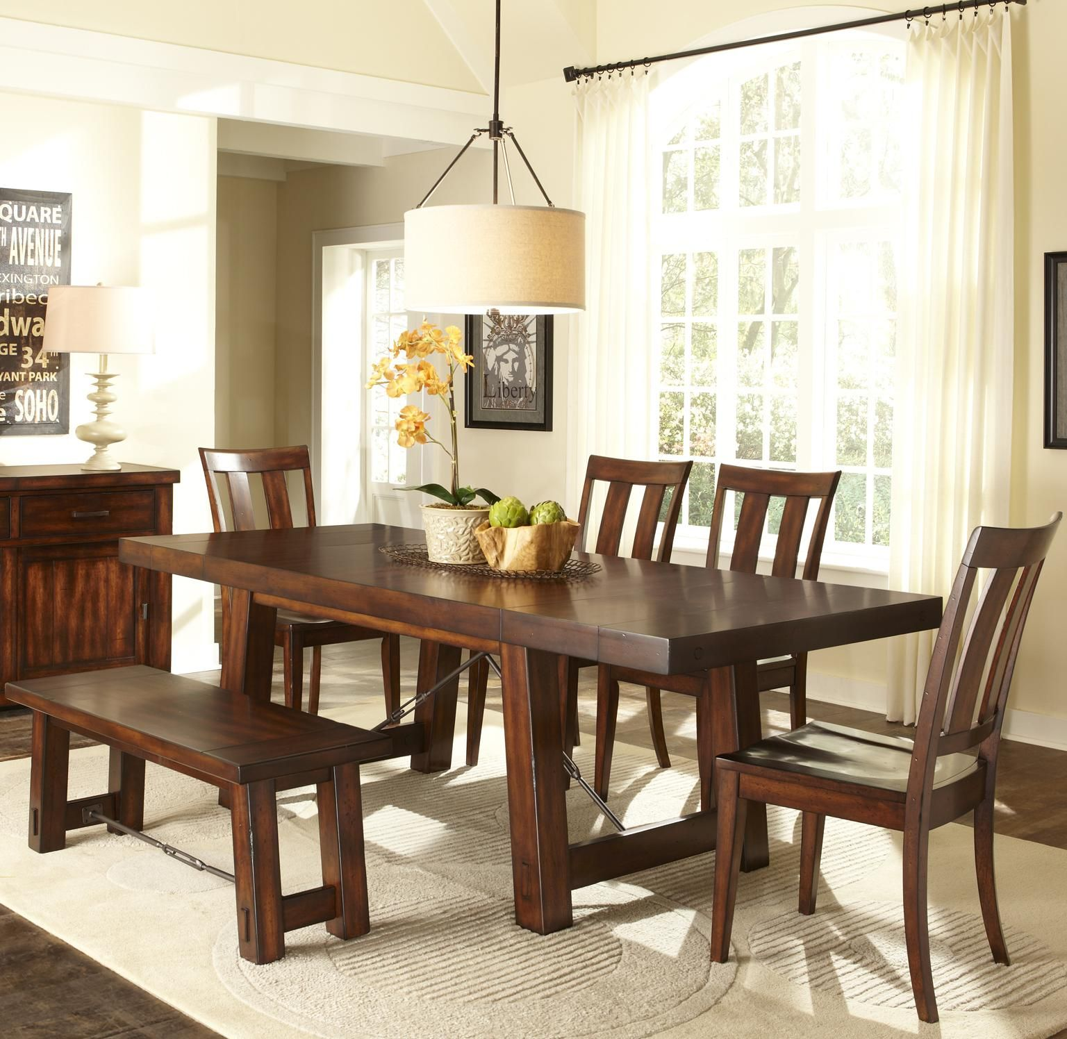 Tahoe 6 Piece Dining Table Set By Liberty Furniture