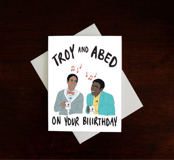 Funny Birthday Letterpress Card Wacky Inflatable Tubeman