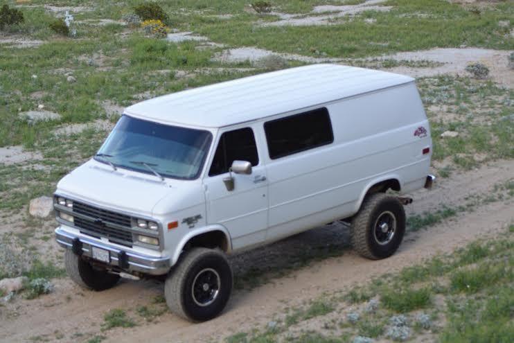 G30 Van 4x4 Gmc Vans Chevy Van 4x4 Van