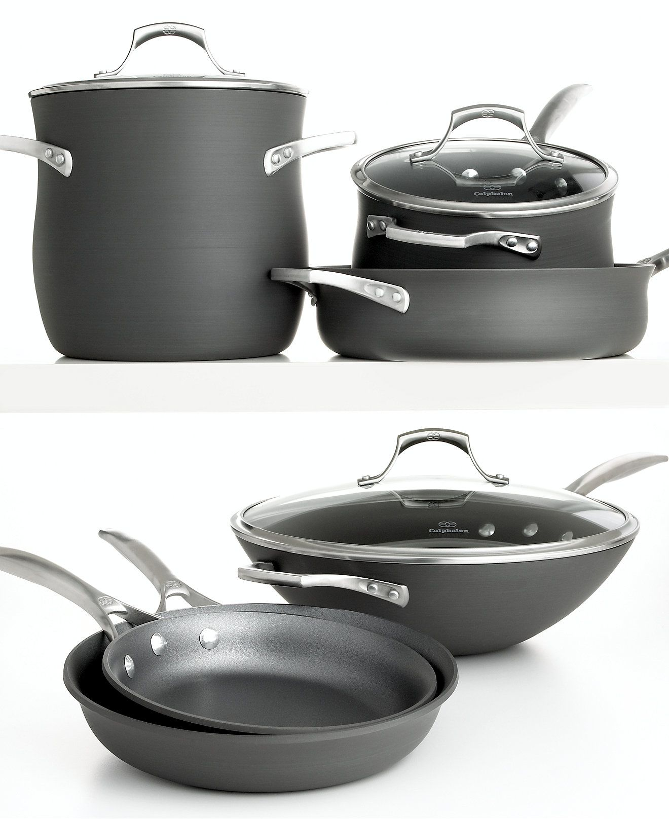 calphalon unison nonstick cookware cookware kitchen macyu0027s bridal and wedding registry