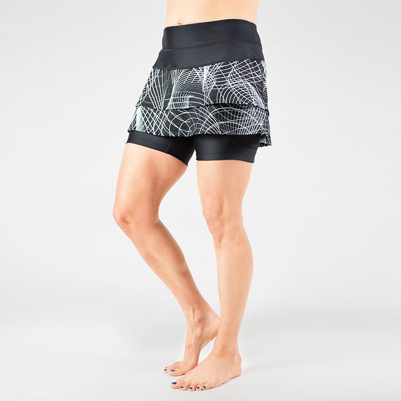 Cascade Skirt with Drawcord Sports skirts, Skirts, Fashion