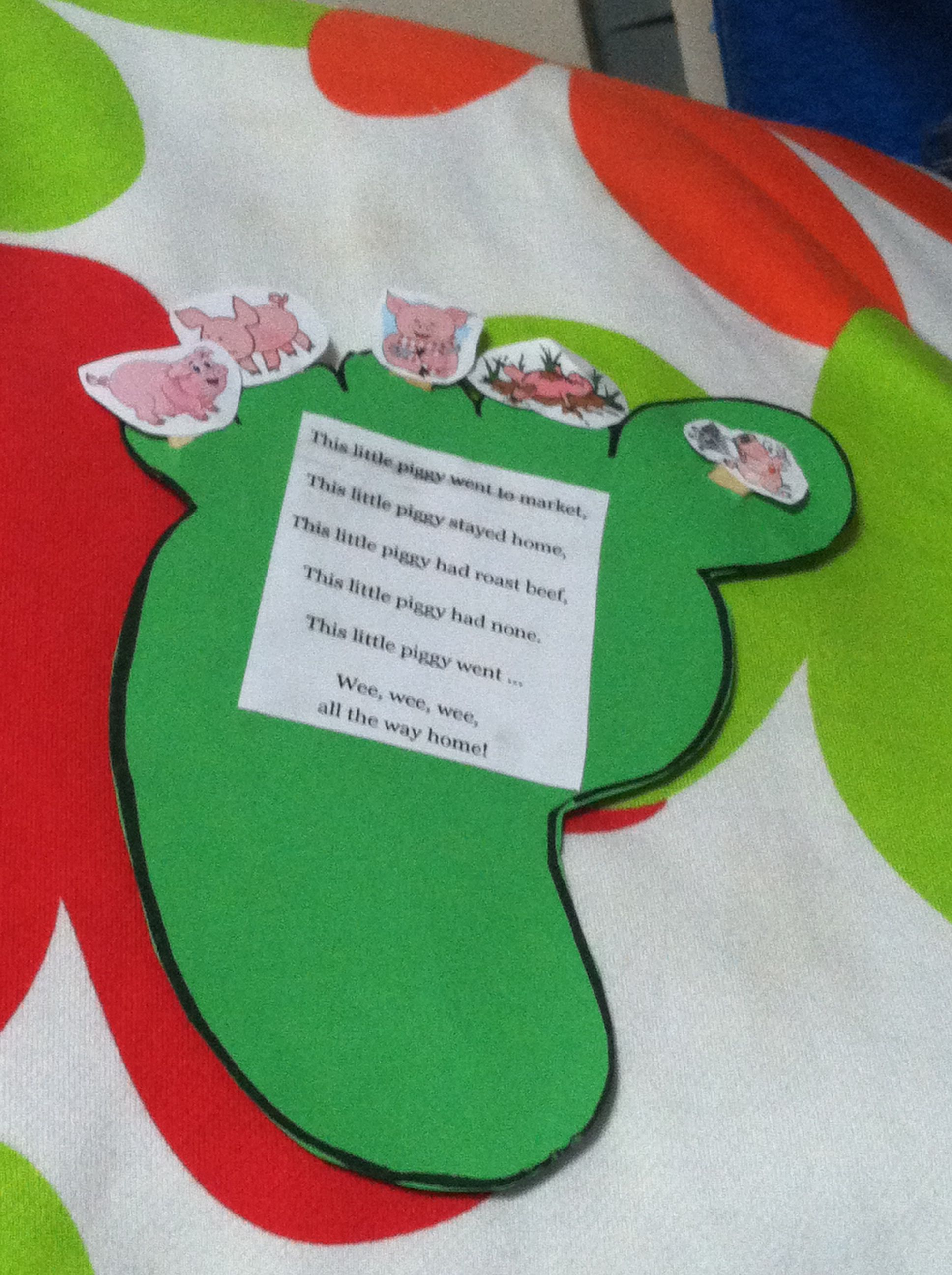Knowing Your Body Theme Craft For Preschoolers With