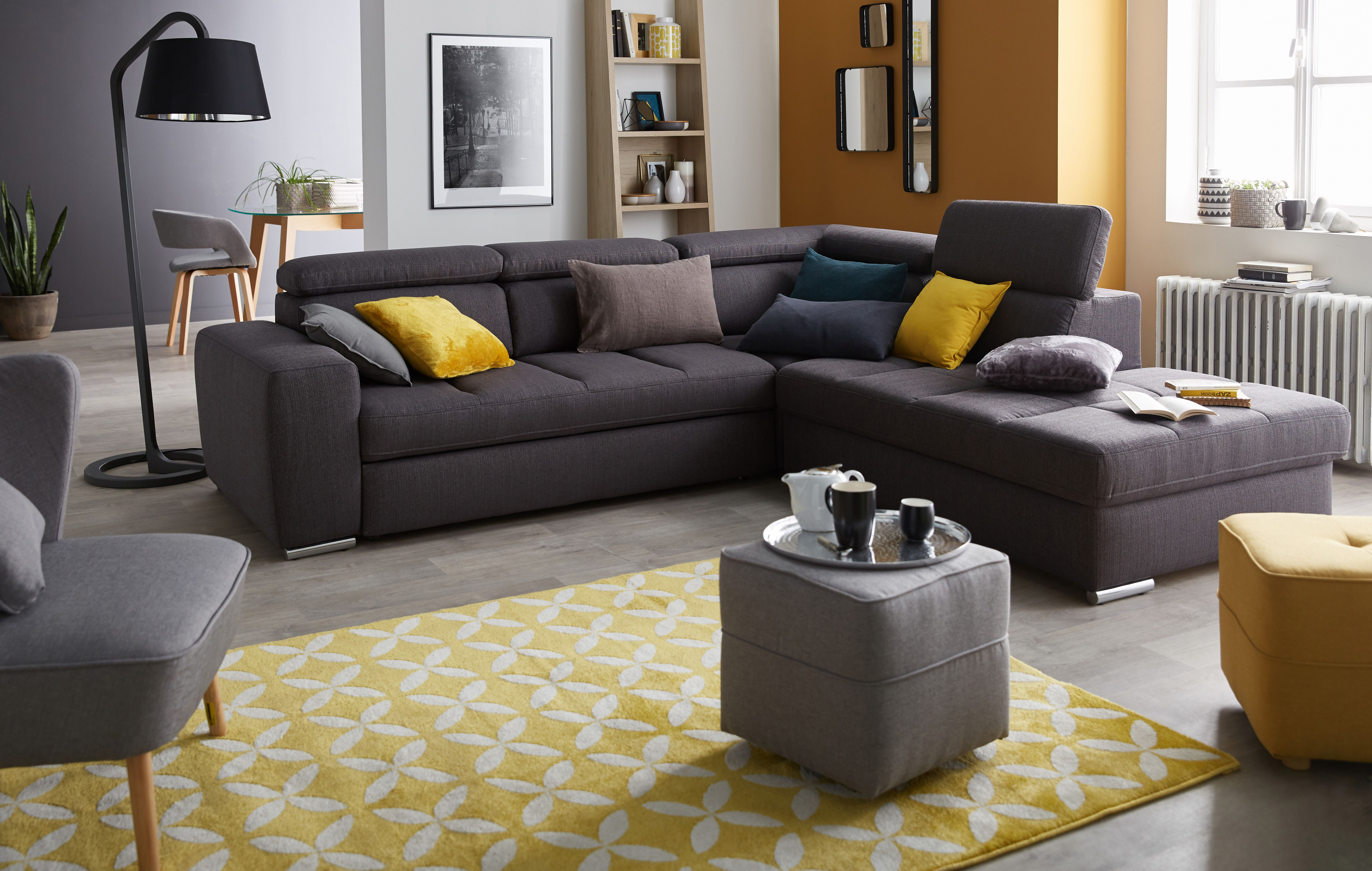 Épinglé par alinea sur Maison new  Décoration salon jaune, Déco