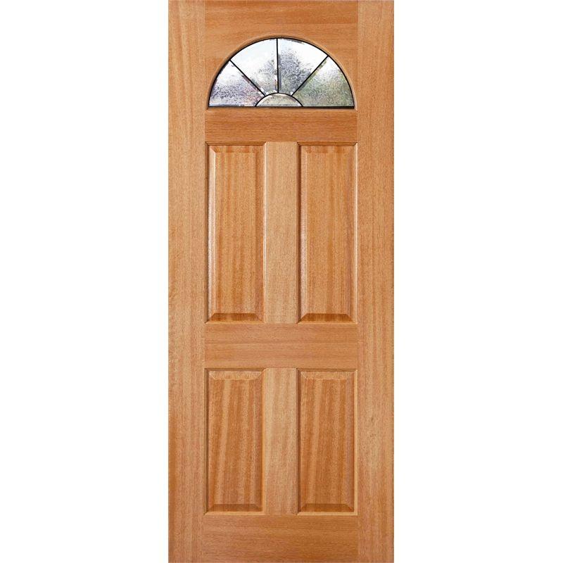 $569 Woodcraft Doors 2040 x 820 x 40mm Black Carolina Entrance Door - Bunnings  sc 1 st  Pinterest & $569 Woodcraft Doors 2040 x 820 x 40mm Black Carolina Entrance ... pezcame.com
