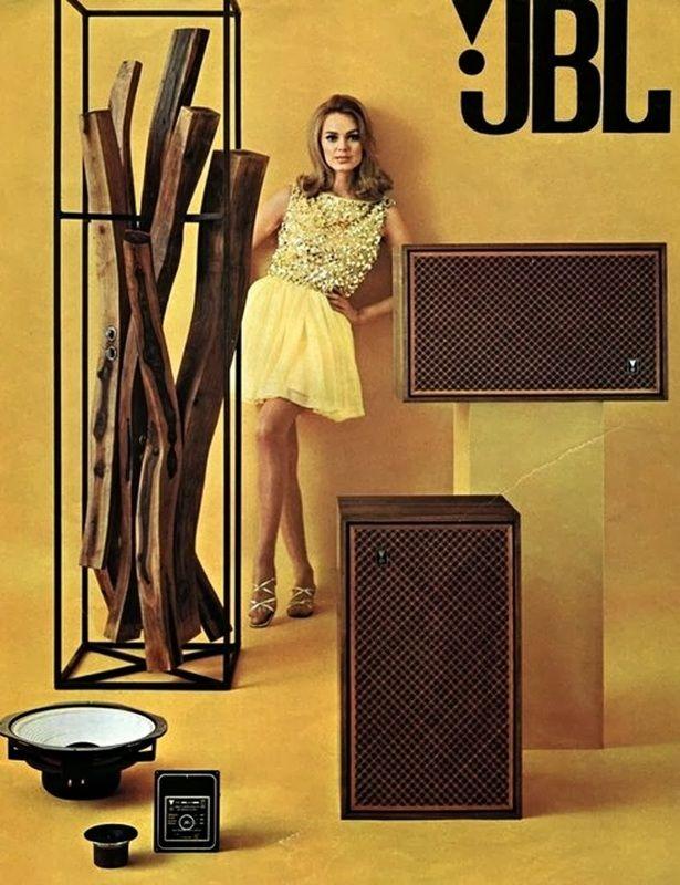 Izobrazhenie Hifi Vintage Speakers Jbl