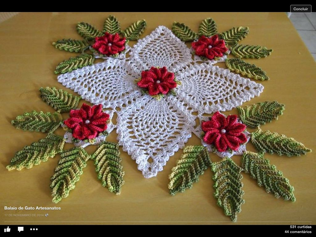 Pin von Rae Darling auf Crochet Doilies, Table runners, Tablecloths ...