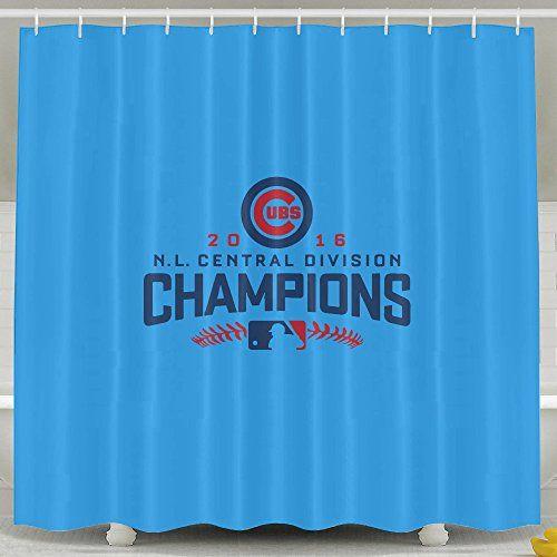 Cleveland Indians Drapes Chicago Baseball Bathroom Shower Curtains Baseball World Series