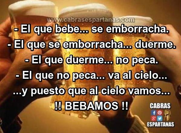 Oración A La Cerveza Del Aperitivo Frases De Borrachos
