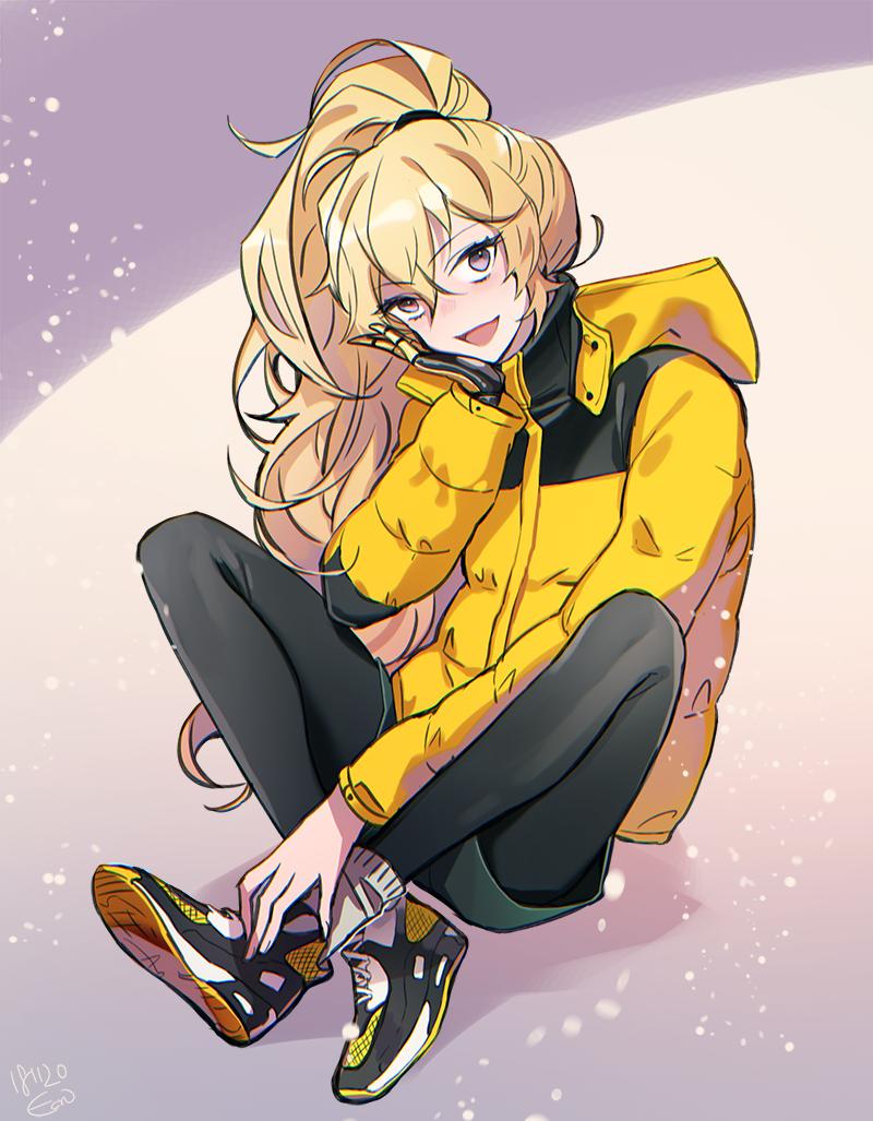 Winter Weather Yang [MyBFF_S2] RWBY Rwby anime, Rwby