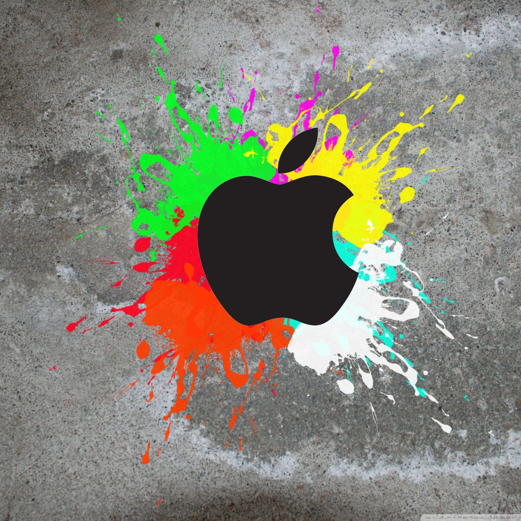 colorful apple hd desktop wallpaper widescreen high
