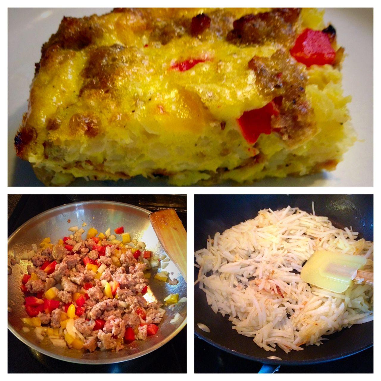 Breakfast casserole dairy free gluten free breakfast
