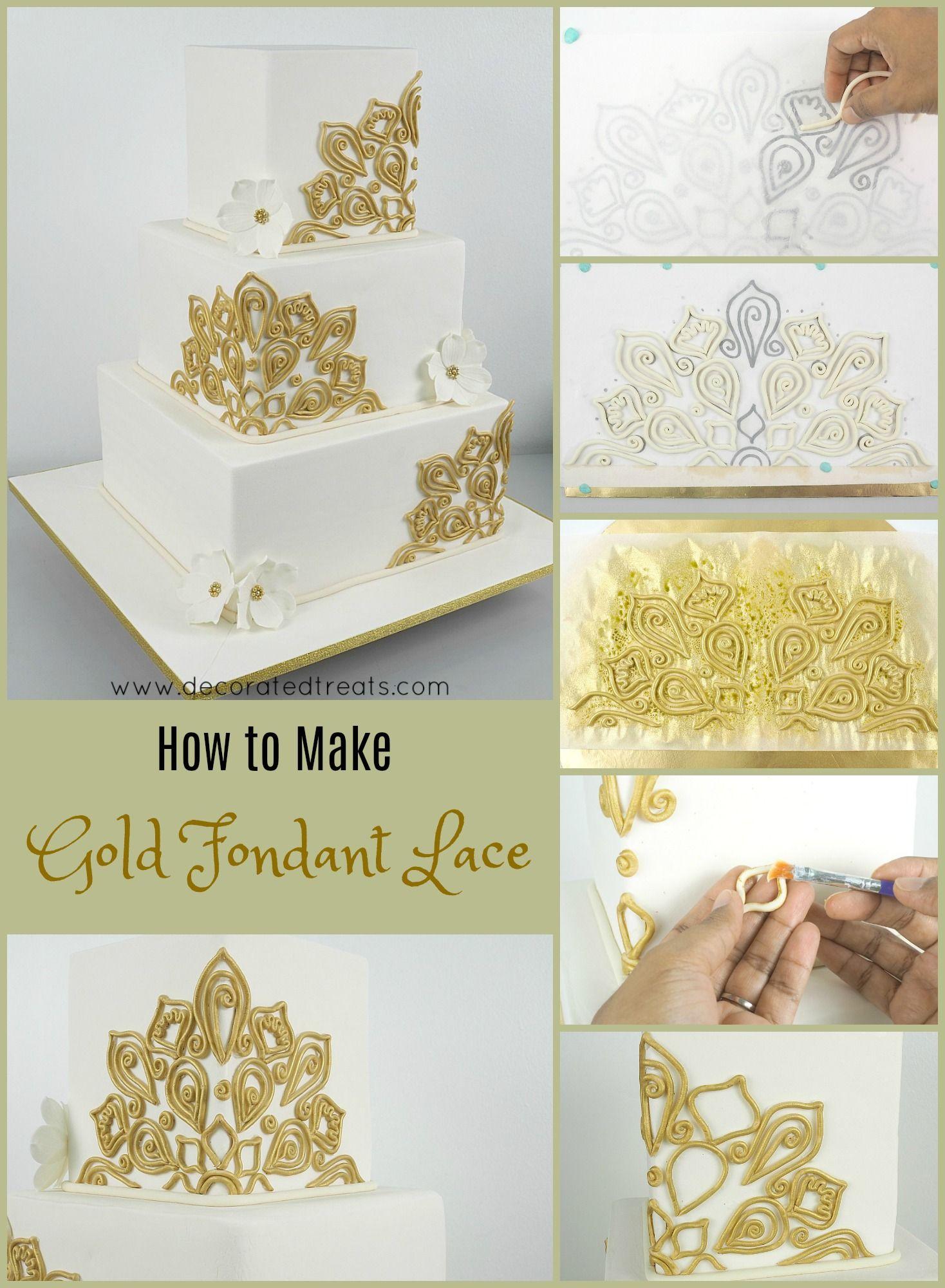 Square wedding cake in anatomy of a wedding cake pinterest