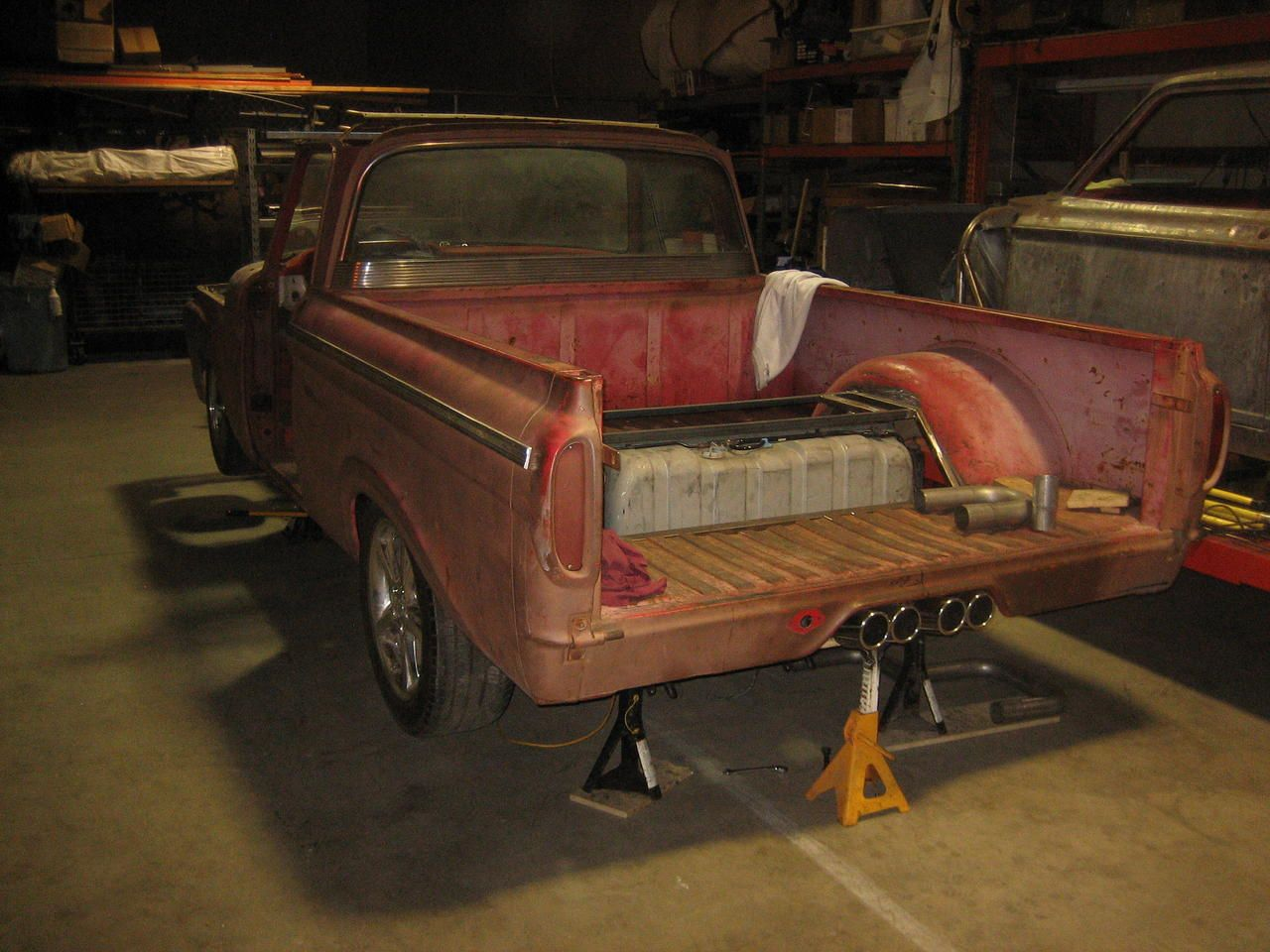 63 unibody big window on 2003 marauder chassis ford truck enthusiasts forums
