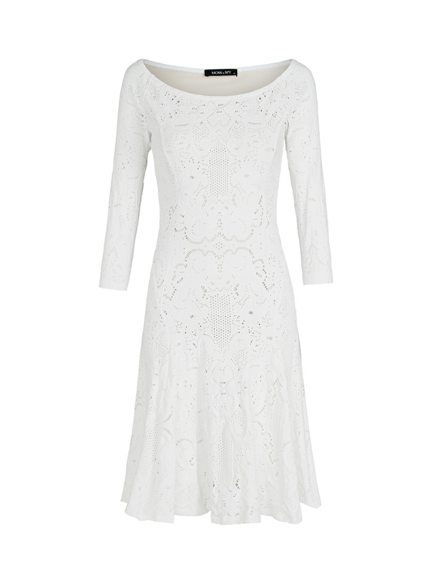 e7ef1b316ec6a White Lace Dress | Moss & Spy Spring Summer Collection at ...