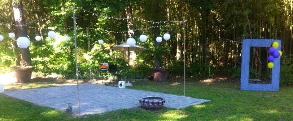 garden celebration | Patio umbrella, Patio, Outdoor decor