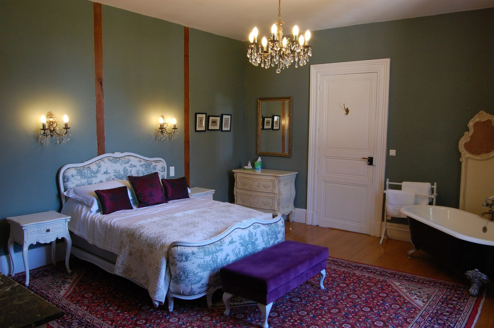 Escape to the Chateau DIY inside Chateau Caillac, a