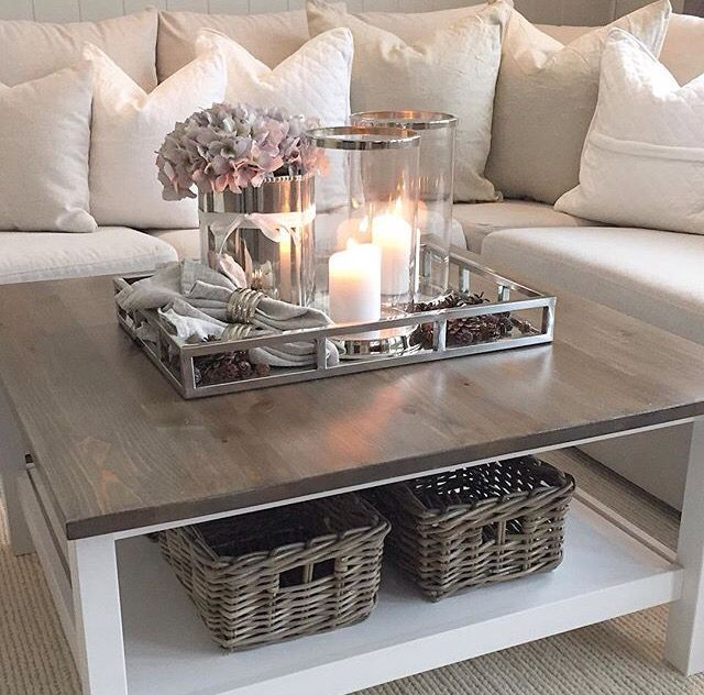 Pin By Courtney On Home Decor Romantic Living Room Decorating Coffee Tables