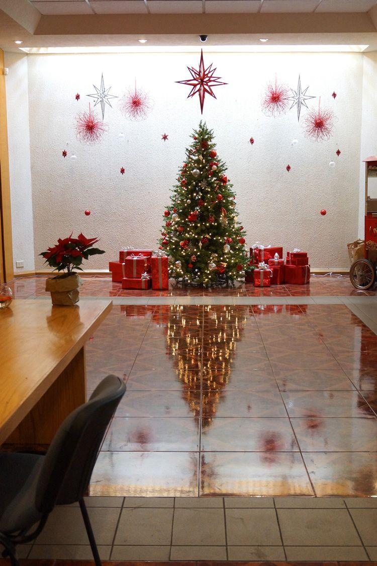 Decorando para la navidad en navidad oficinas y navidad - Decoracion de navidad para oficina ...