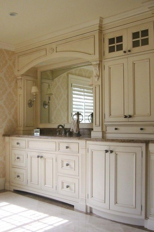 Cabinets Toque White 7003 by Sherwin Williams Kitchen