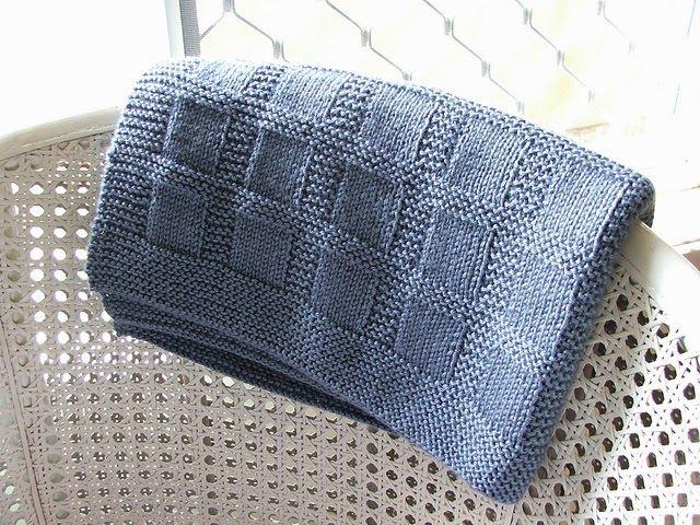 Baby Blanket To Knit Knitting Pattern Baby Blanket Blankets