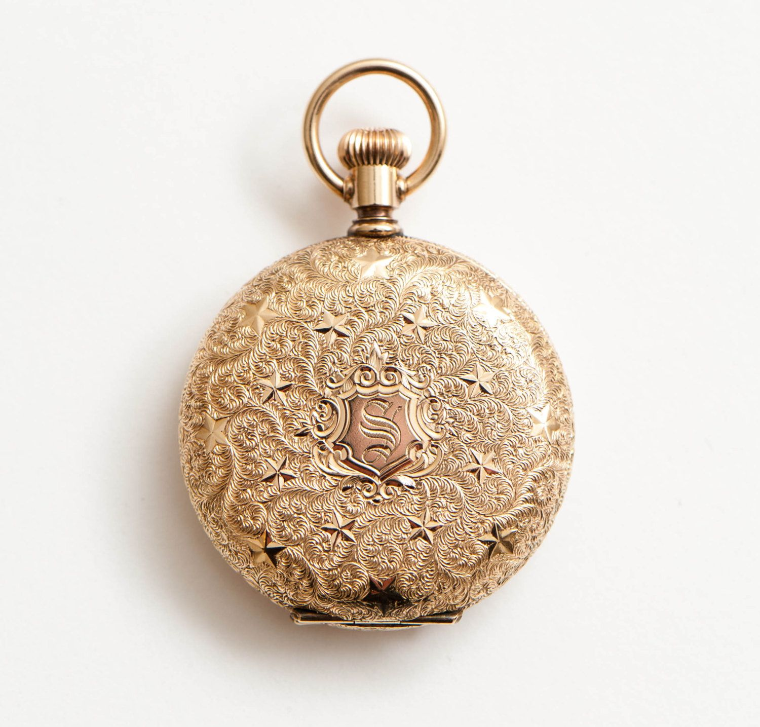 Solid gold 14k antique ladies waltham pocket watch intricate solid gold 14k antique ladies waltham pocket watch intricate victorian pendant watch necklace fob mozeypictures Images