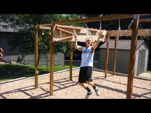 American Ninja Warrior Course Homemade Youtube