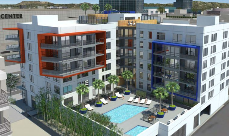The Flood Of Low Rise Residential Projects Into Downtown Continues With New Plans For A Building On Figueroa Street In South P South Park Story House Building